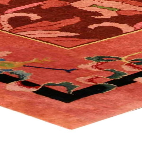 Arte chino de la vendimia de Deco Alfombra BB4169