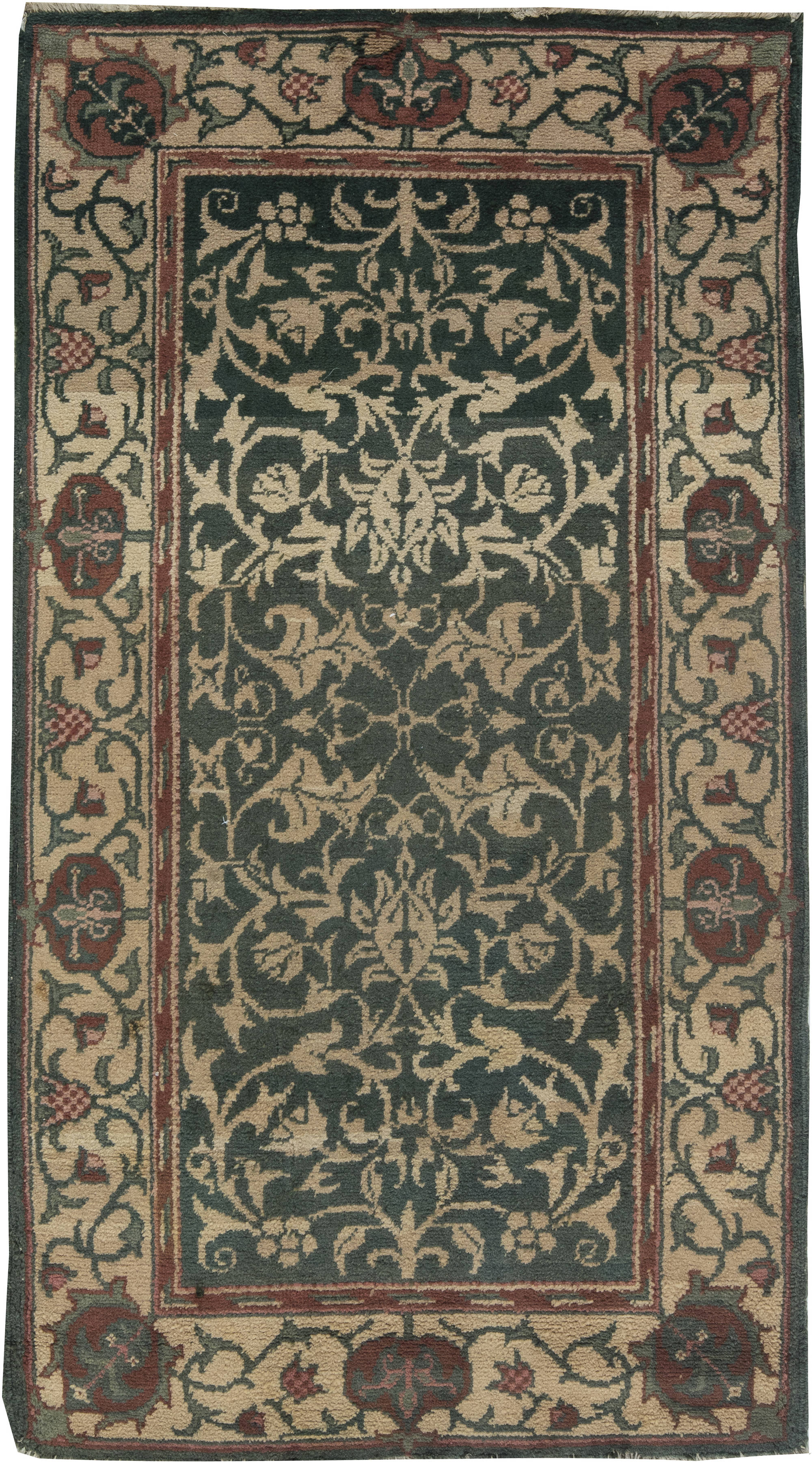 Vintage William Morris Rug Bb6379 By Dlb