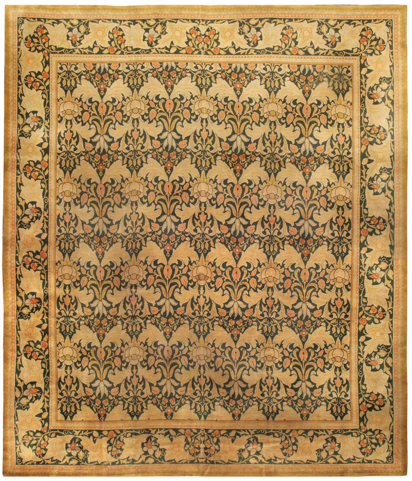 Vintage William Morris style Carpet BB0234