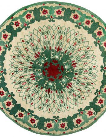 Tapete circular vintage Paule Leleu BB4792