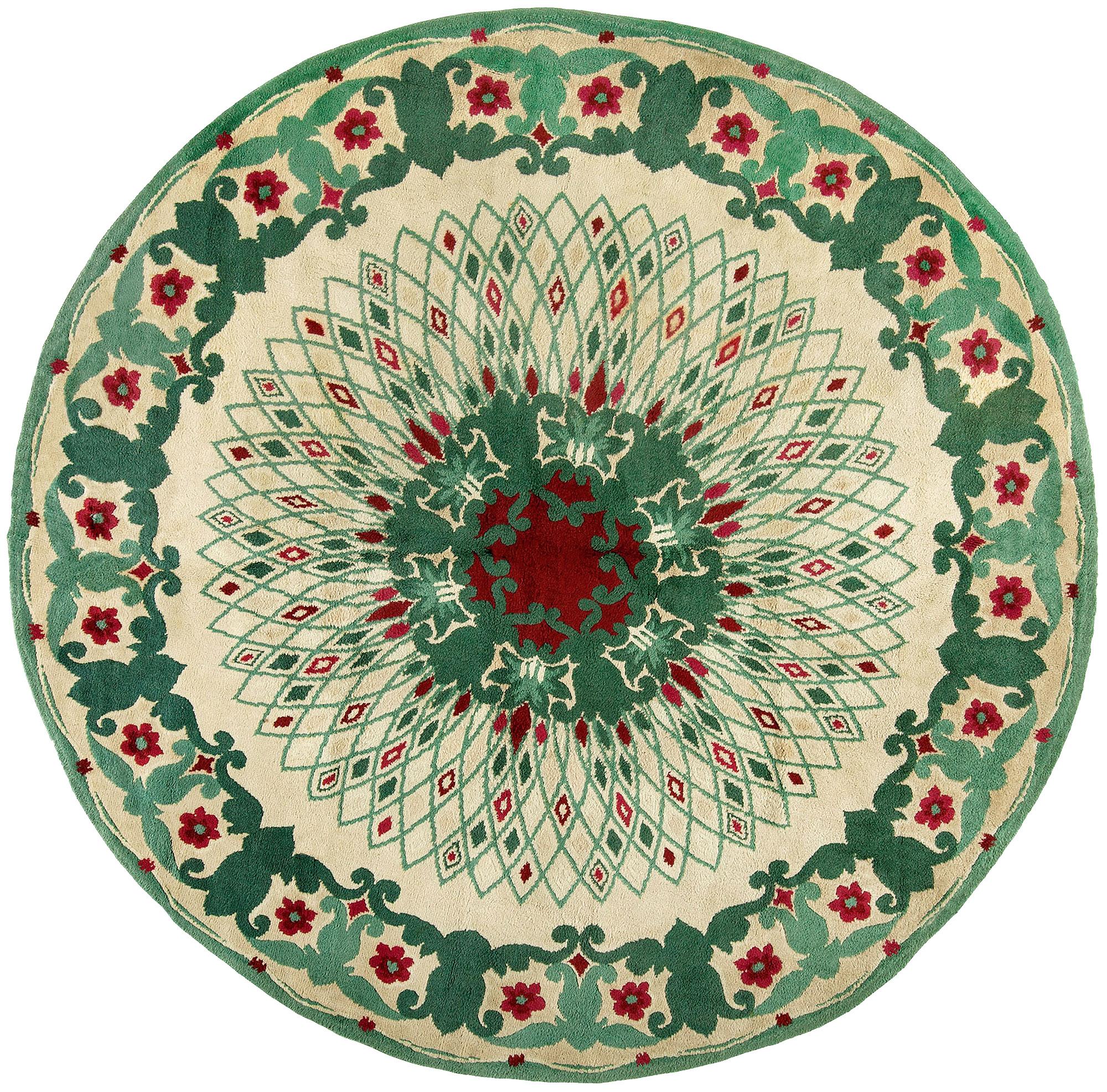 Paule Leleu Vintage Circular Rug BB4792