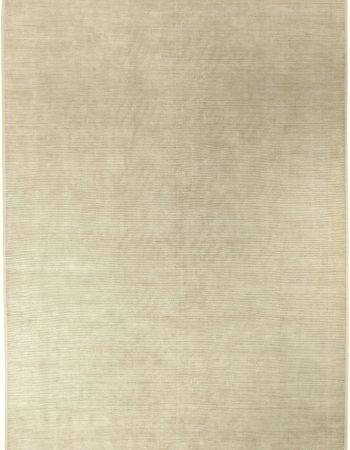 Übergroße Ivory Silk Teppich N10972