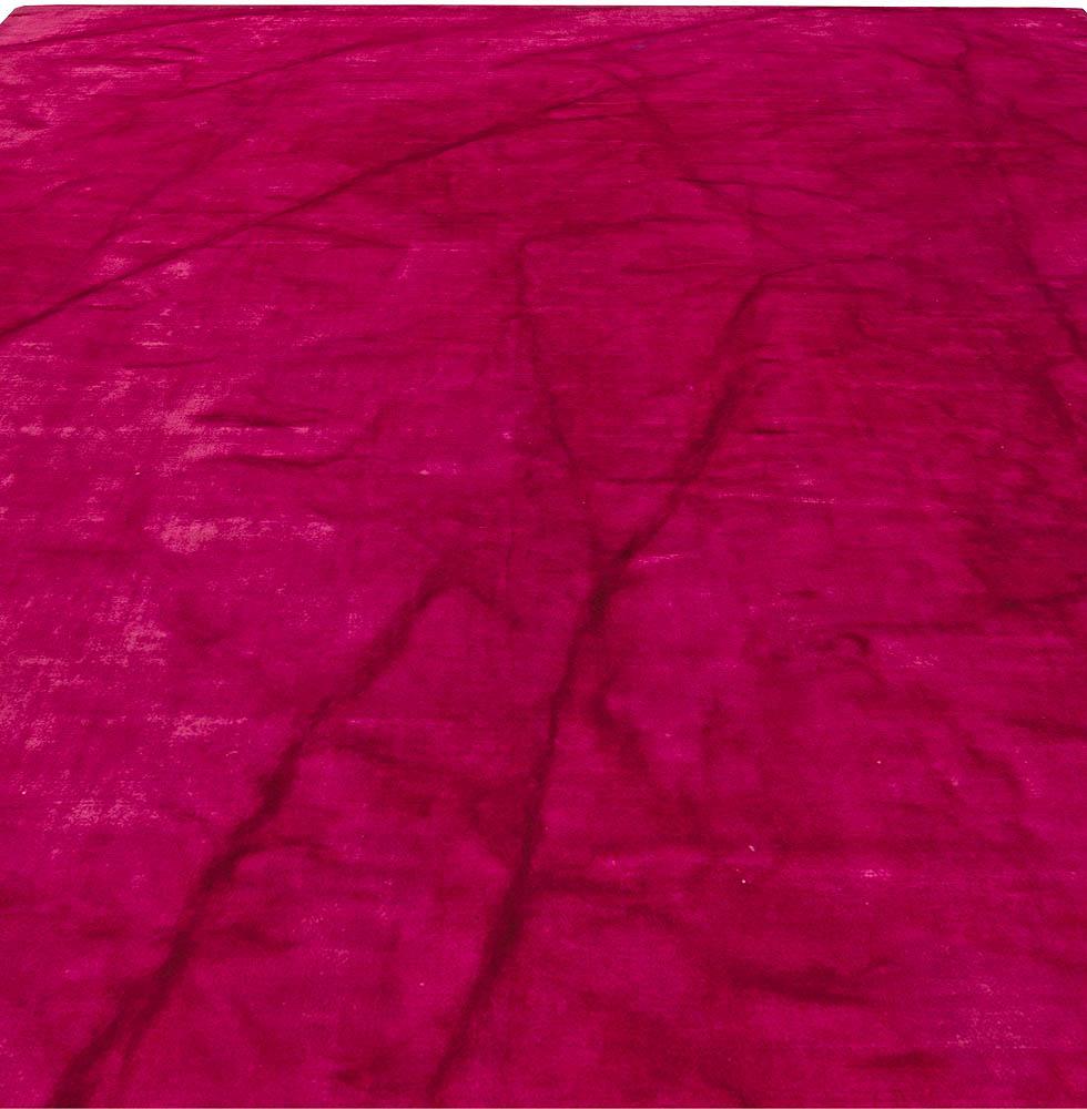 Contemporary Agua Pink Rug N10845 By Doris Leslie Blau