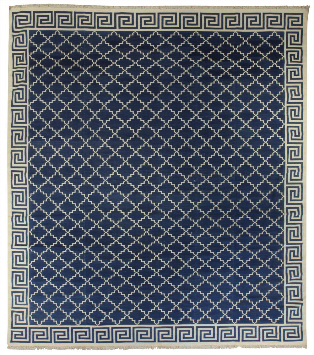 Dhurrie Kobe Blue N10609