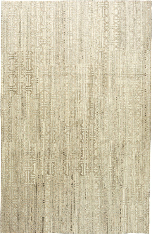 Natural Un-dyed Wool Rug N11291