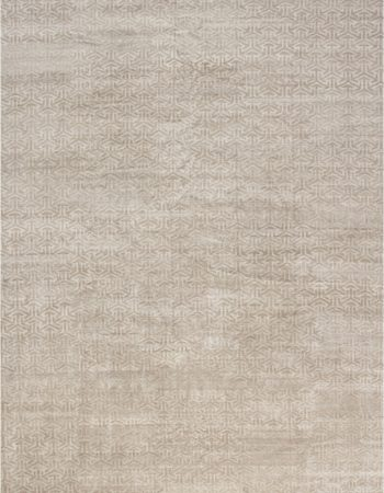 OVER-SIZED MODERN TERRA RUG IN NATURAL WOOL N11293
