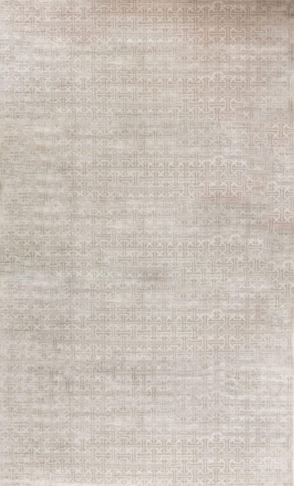 Oversized Natural Wool Rug N11360