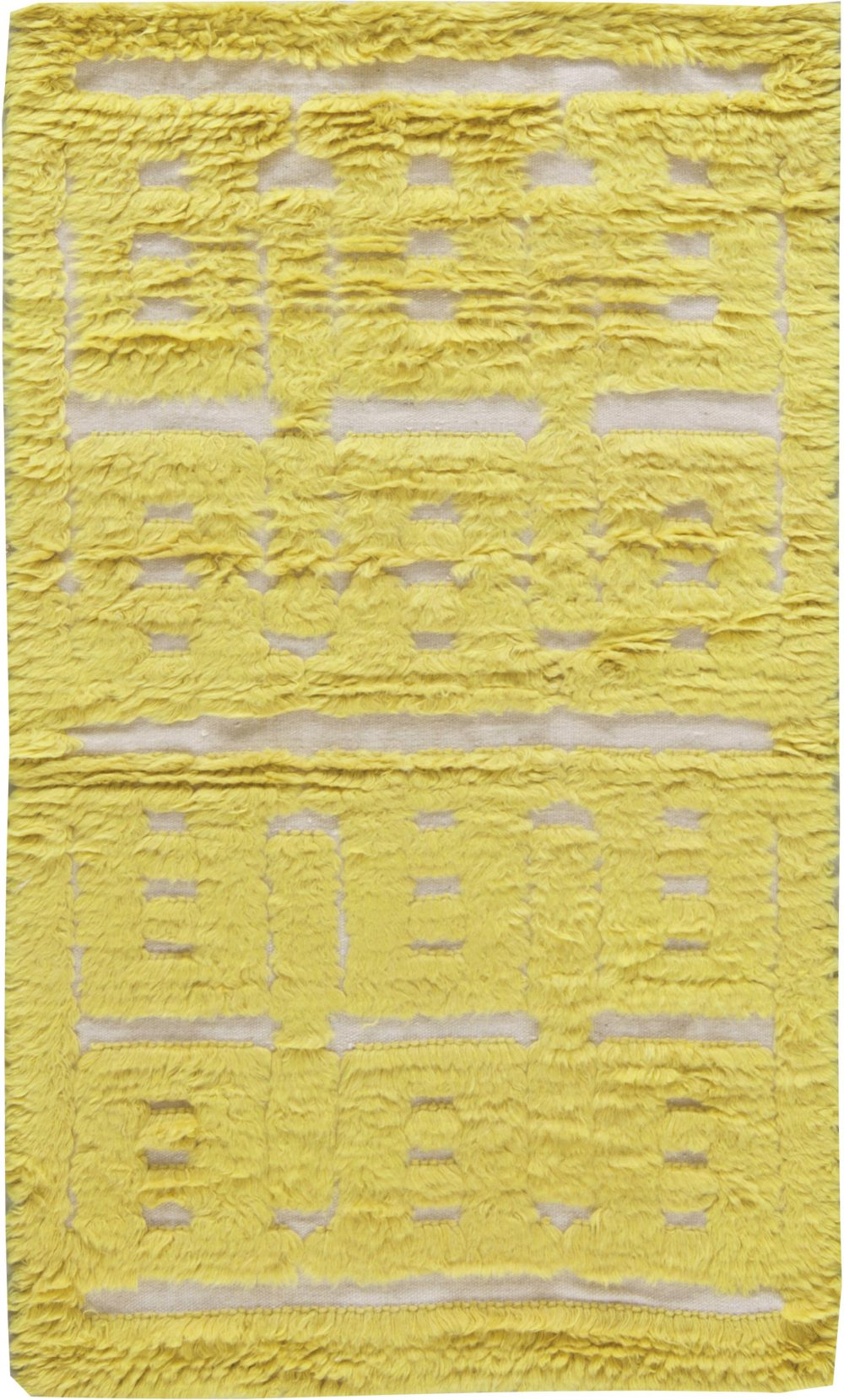 Contemporary High Low Rug N11274