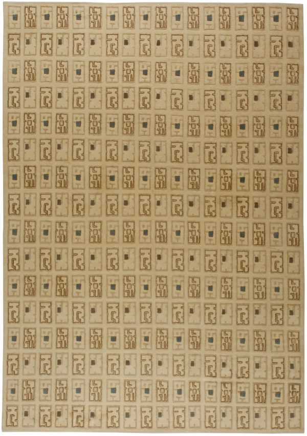 Paule Leleu Inspired Deco Teppich N10813