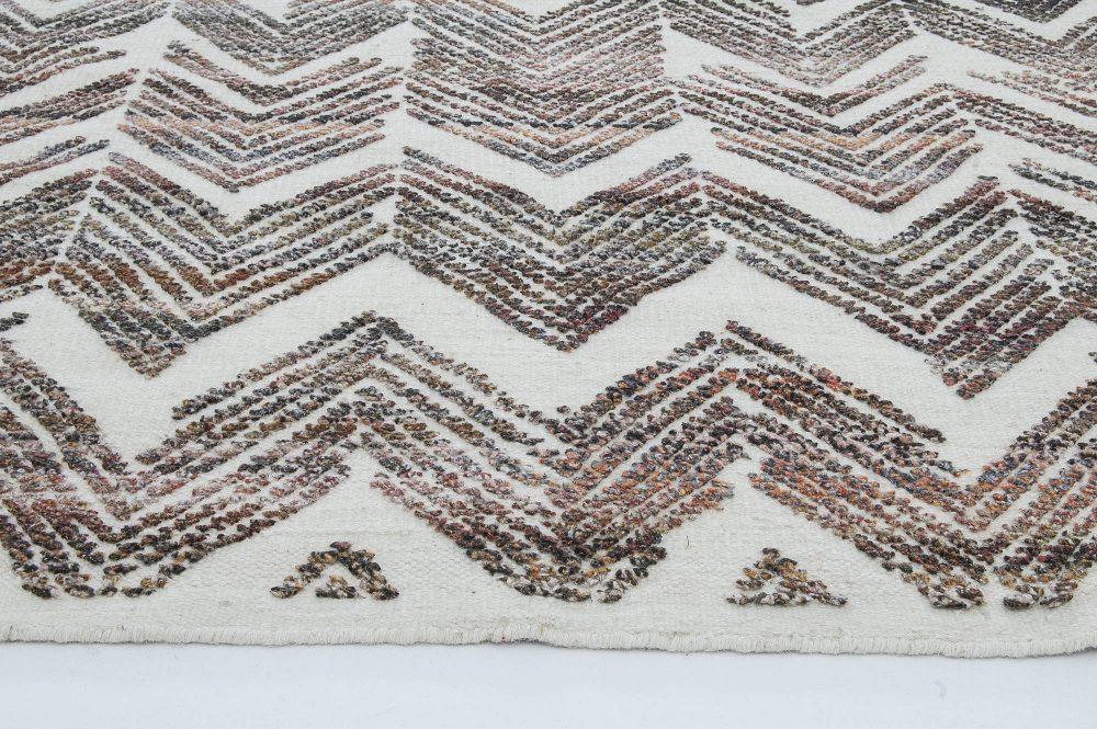 Textured Chevron Rug N11445