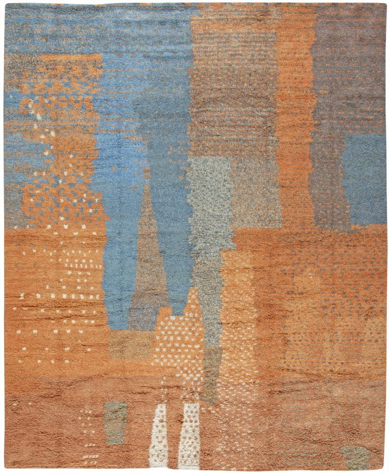 Contemporary Moroccan Rug N10761 By Dlb