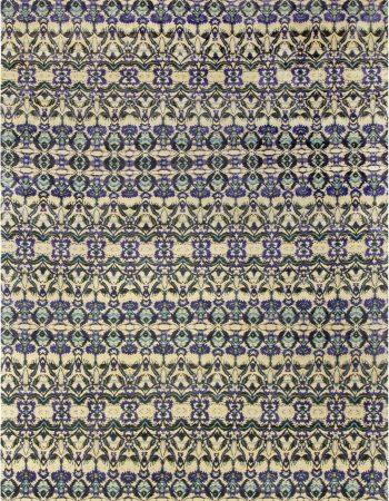 Modern Eskayel-Natale Cerulean Silk tapete N10616