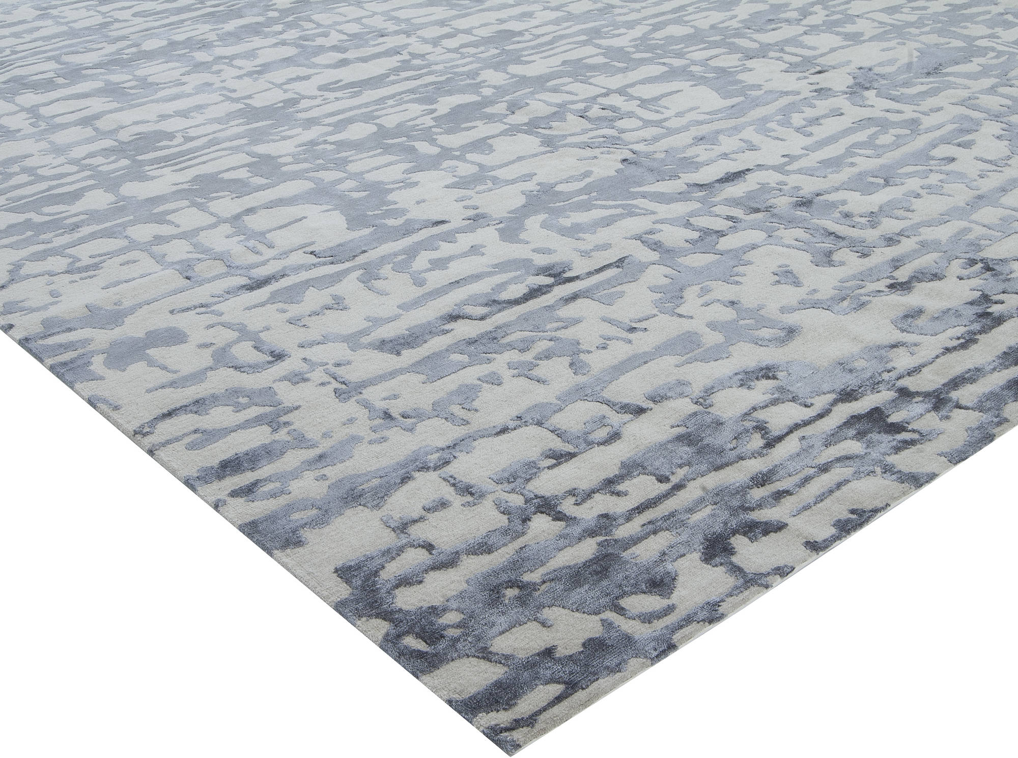 Aqua Element Rug In Blue N11444