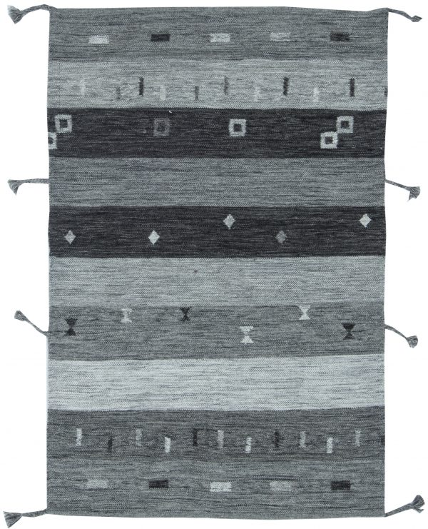 Contemporary Plano tecer tapete N11514