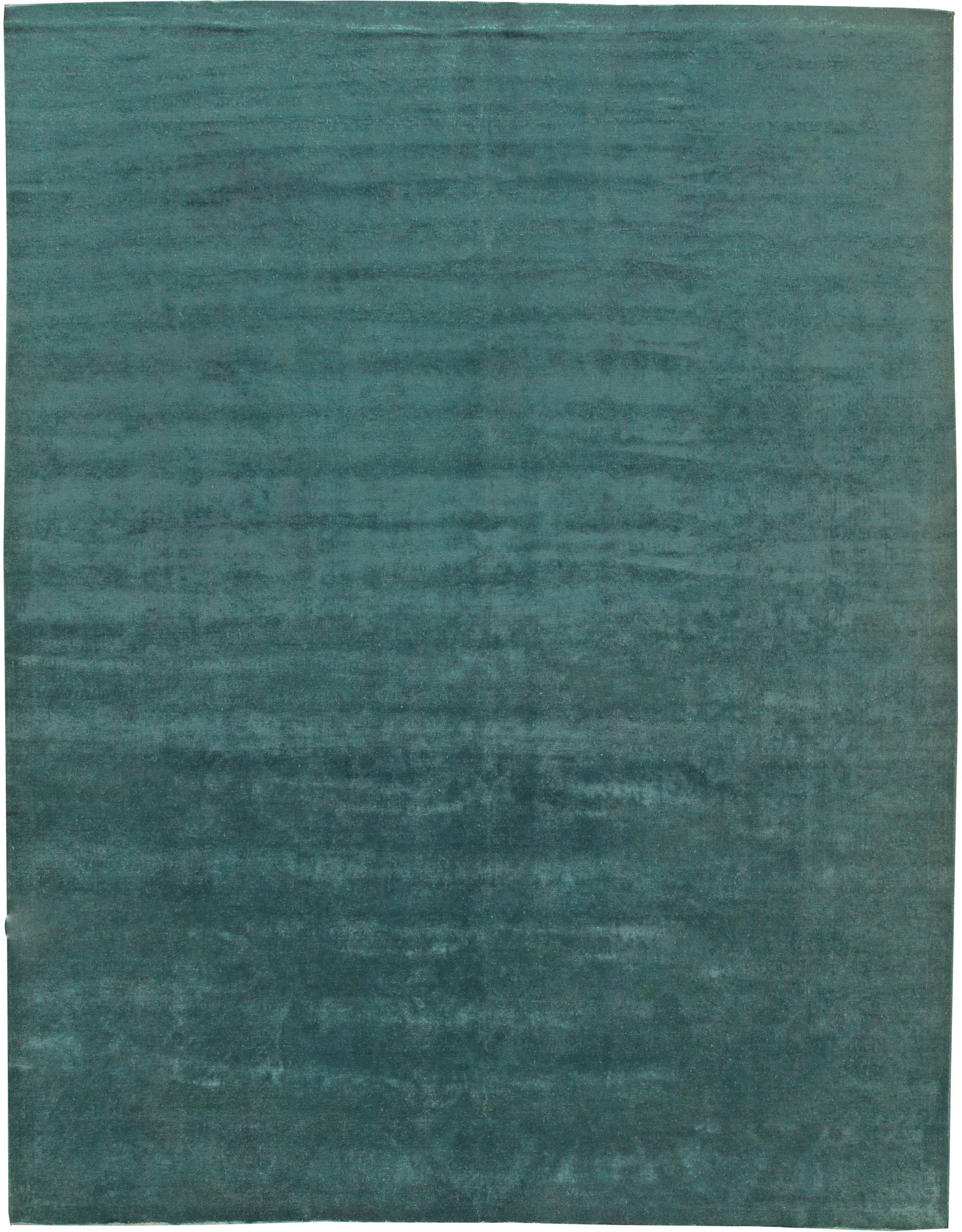 Contemporary Green Rug N11095