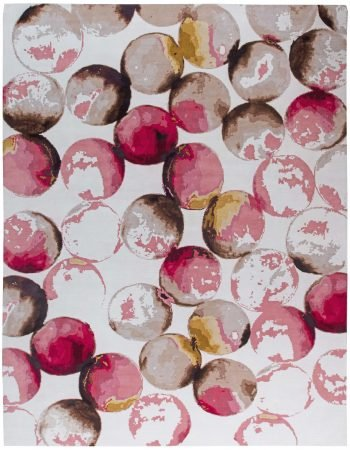 Contemporary Spheres Rug N11345