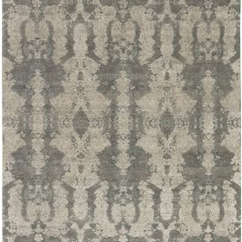 Hermann Hand Knotted Silk and Wool Rug N11619