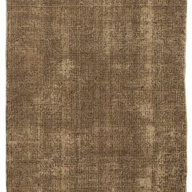 Contemporary Asbury Cocoa Hand Knotted Wool Rug N10631