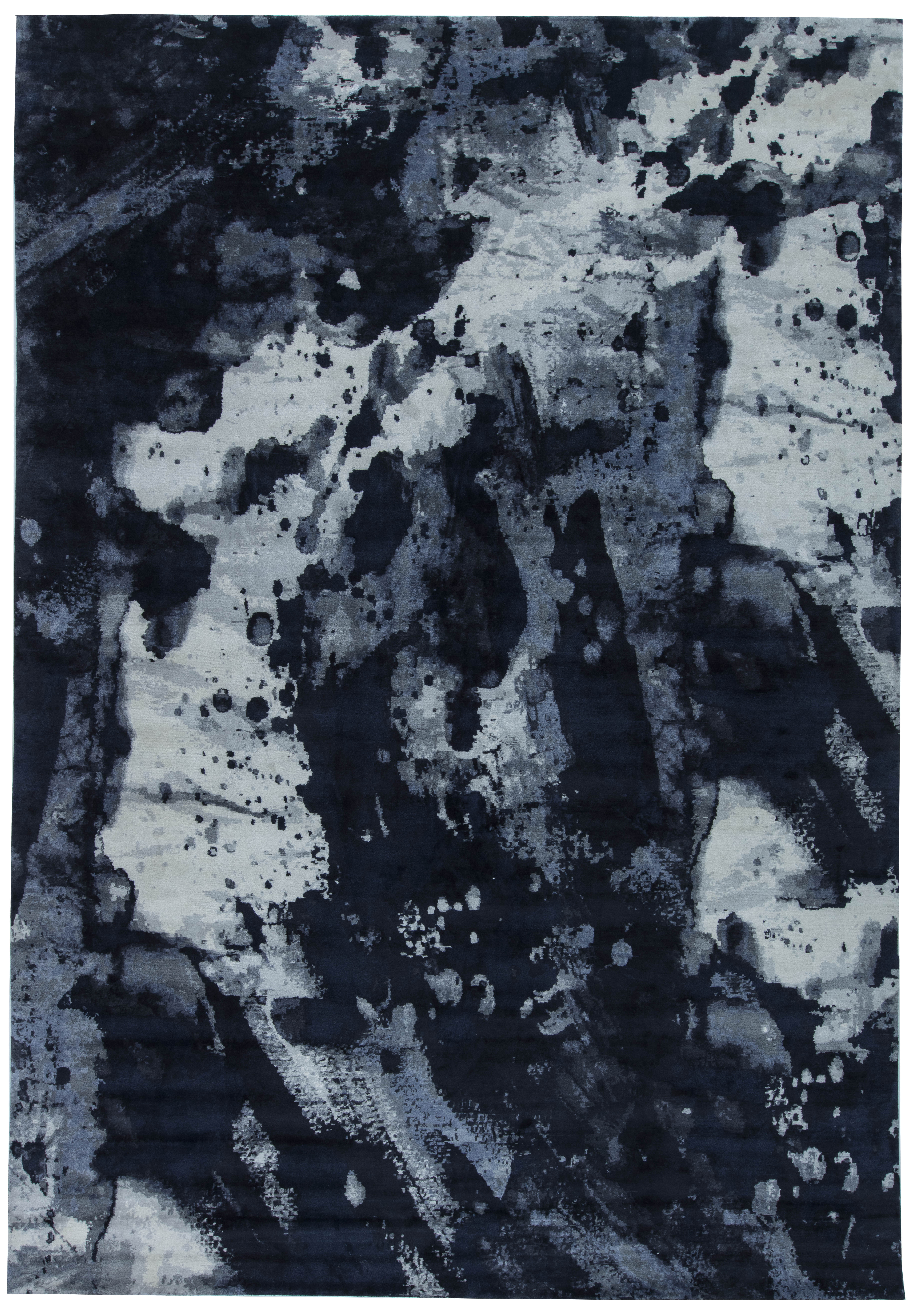 Picture of: Icy Ink Rug N11538 By Dlb