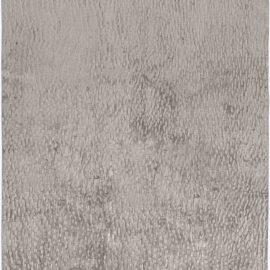Contemporary Sand Dunes Gray Handmade Silk Rug N11415
