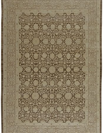 Traditional Sultanabad Design Beige, Blue, Brown, Green & Red Rug N11869
