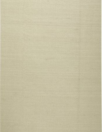 Cream Viscose Flatweave Rug with Geometric Pattern N11309