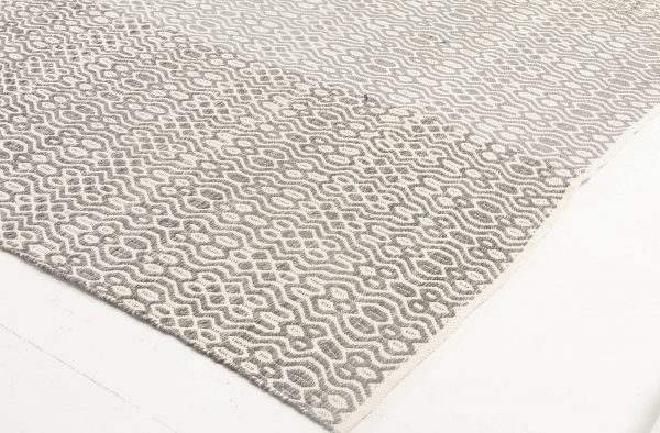 CONTEMPORARY FLAT WEAVE RUG N11852