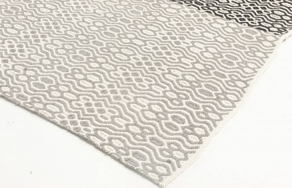 CONTEMPORARY FLAT WEAVE RUG N11859