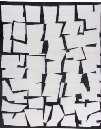 Contemporary Cubist Inspired Rug N11344