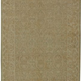 Tabriz Style Wool Rug N11066