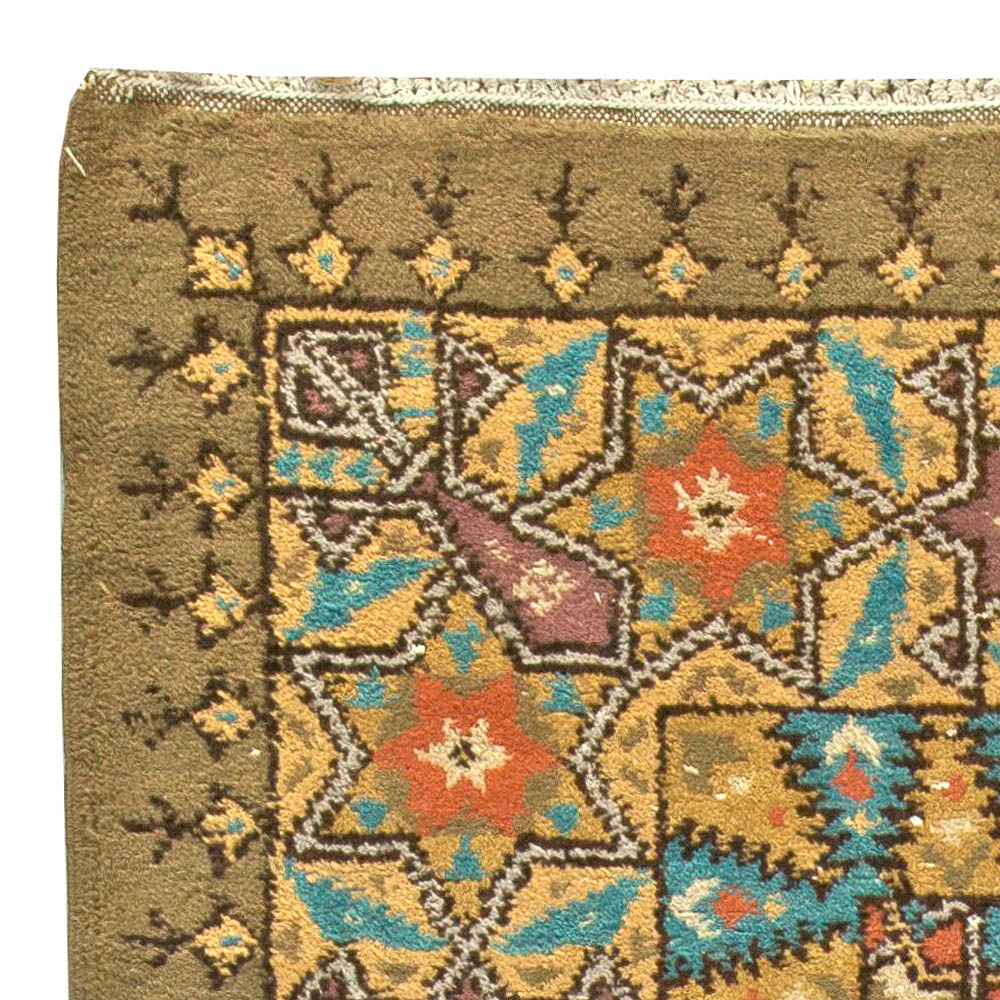 Vintage French Deco Rug BB5827
