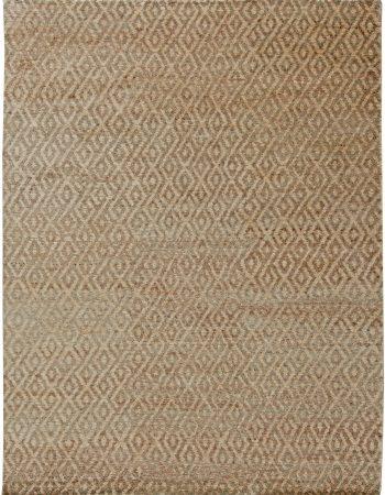 Moderner Hanf Teppich N11046