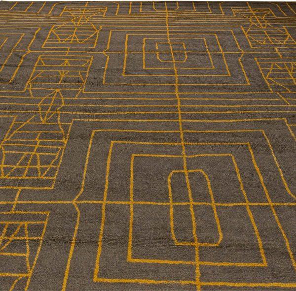 Oversized Hive - Ein moderner Teppich von Kim Alexandriuk N11075