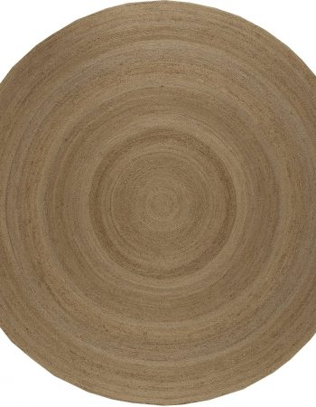 Traditional European – Jute Braided Circular Rug N10886