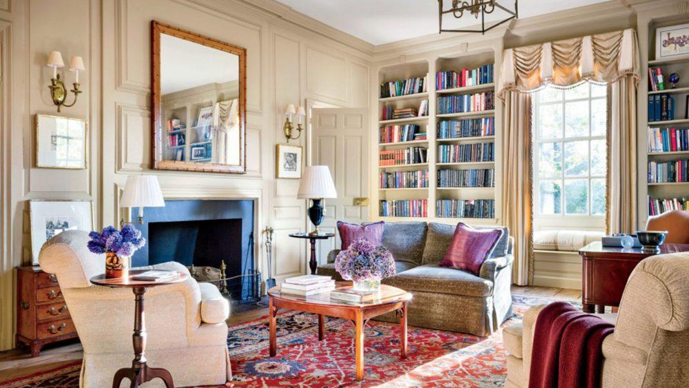 Interior Design by Mariette Gomez with DLB rug R100017