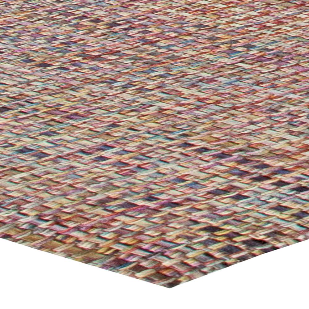 Modern Rug of Vivacious Colors N11043