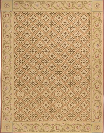 European Inspired Aubusson Rug N11436