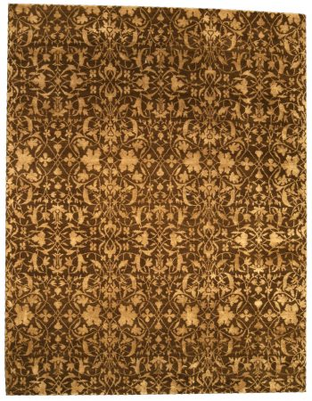 Explosion of Colors 21st Century Abstract Handmade Wool Rug N10471