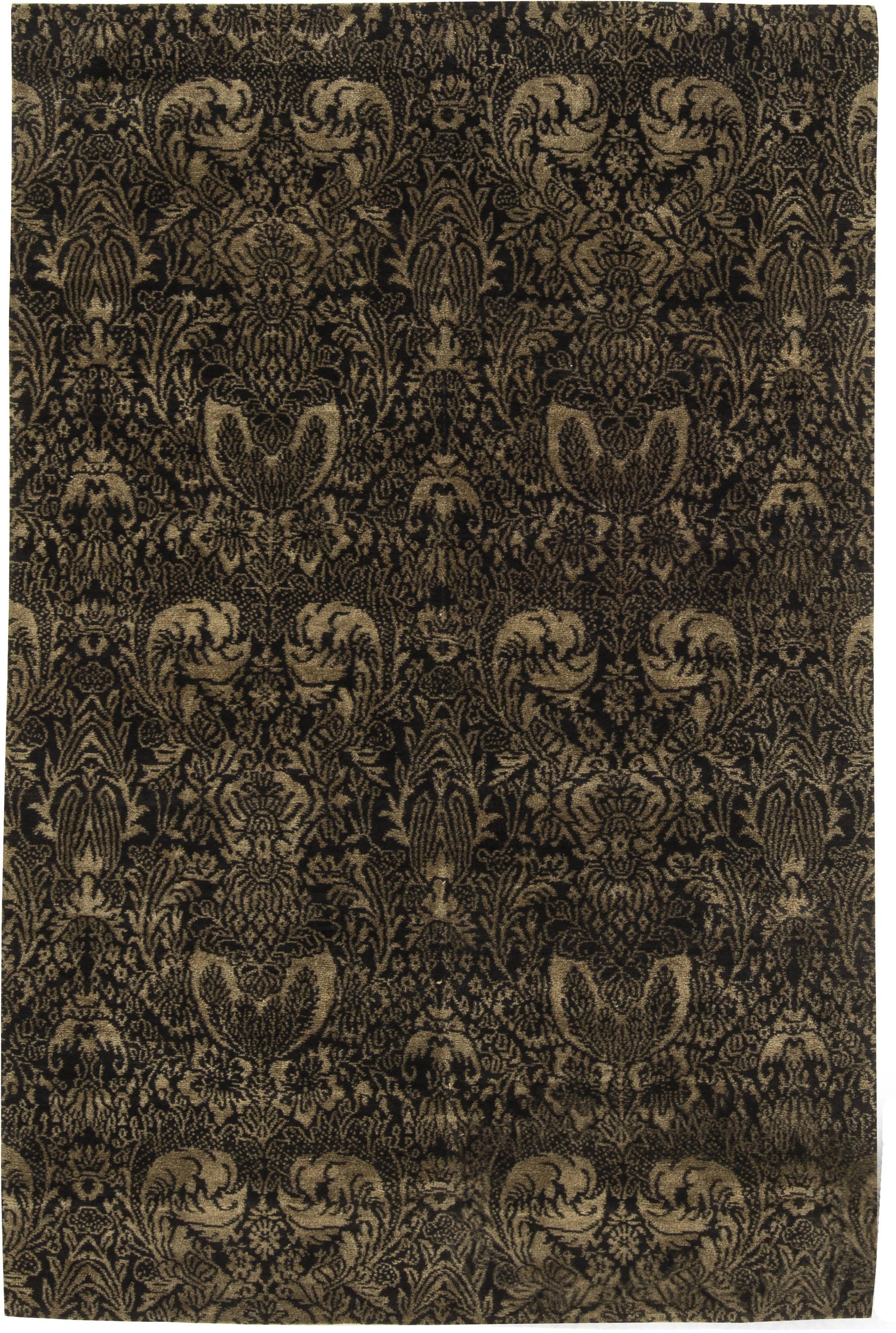 European Inspired Tibetan Rug N11568 By Dlb