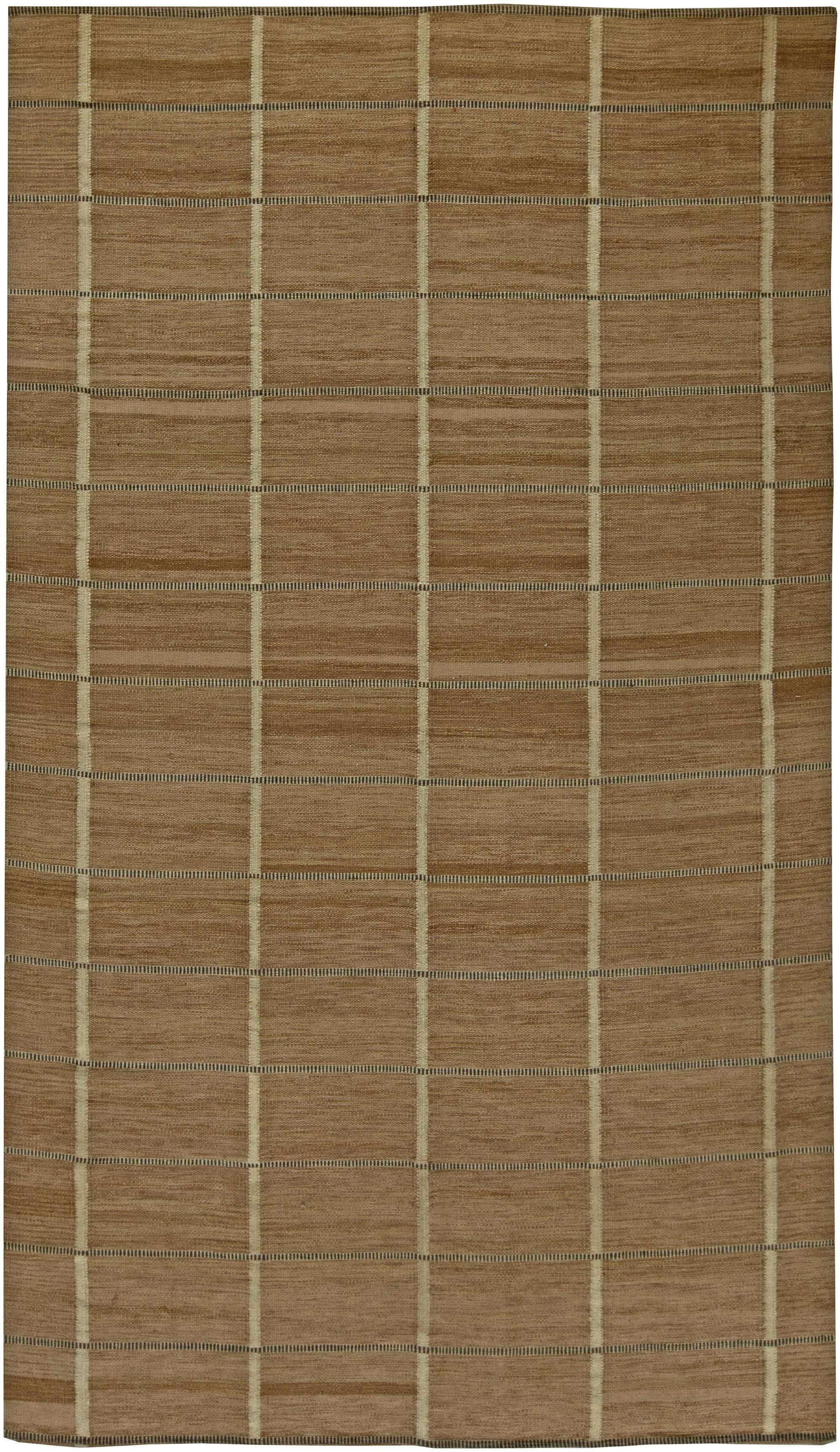 Swedish flat weave Rug N11239