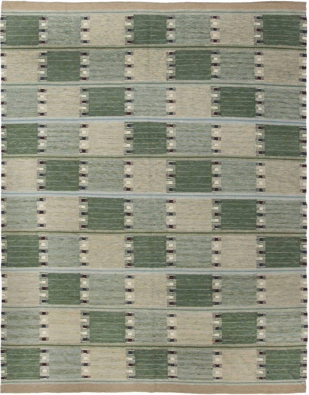 Swedish Flat weave Rug N11719