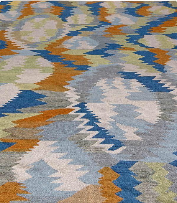 Swedish Flat Weave Rug N11331