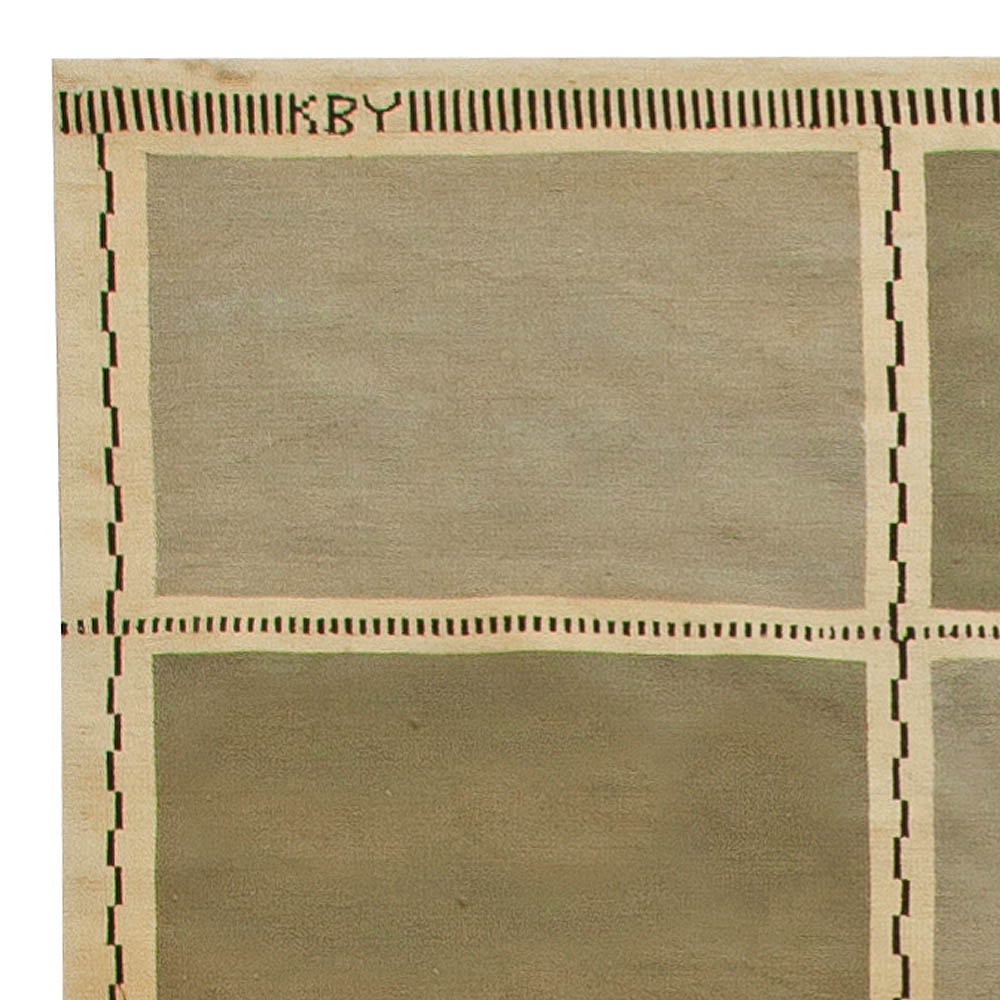 Ike Kligerman Barkley Swedish Design Rug N11298