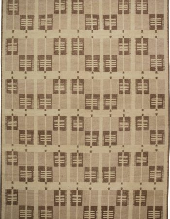 Swedish Design Flat Weave Rug N11490