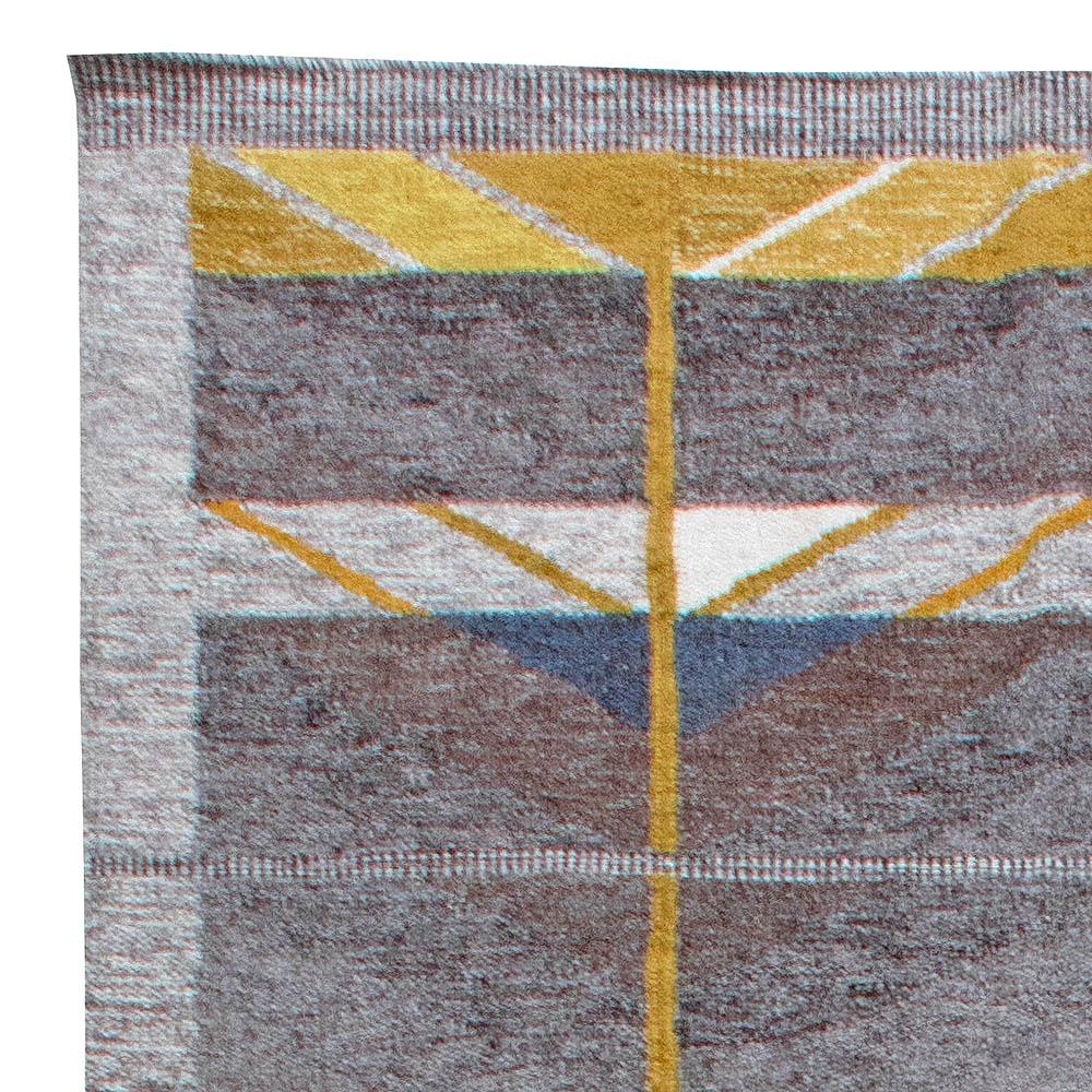 Swedish Flat Weave Rug N11338