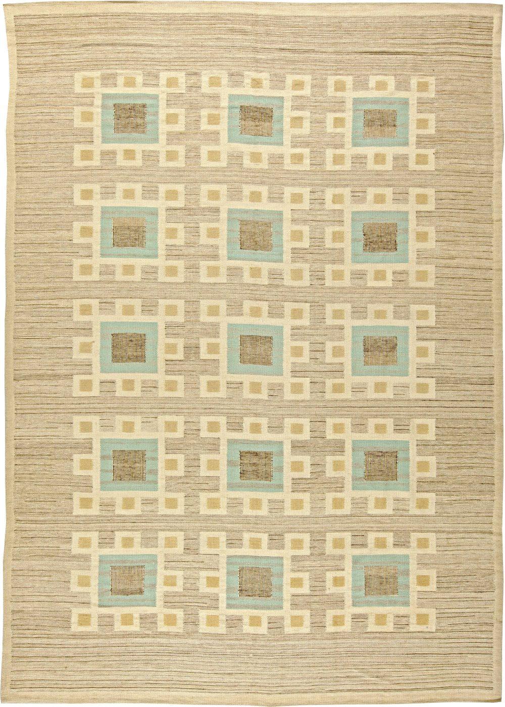 Swedish Flat Weave Rug N11329