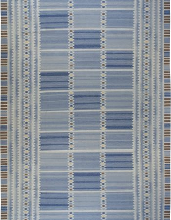 Oversized Swedish Flat Weave Rug N11234