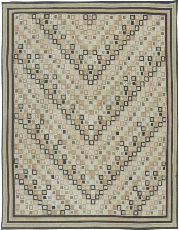Swedish Design Flat Weave Rug N11497