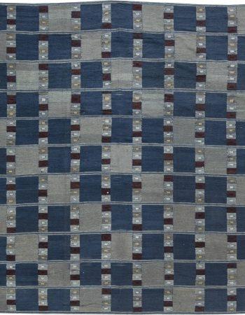 Swedish Design Flat Weave Rug N11545