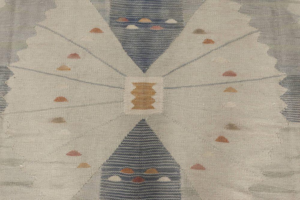 Swedish Design Flat Weave Rug N11746